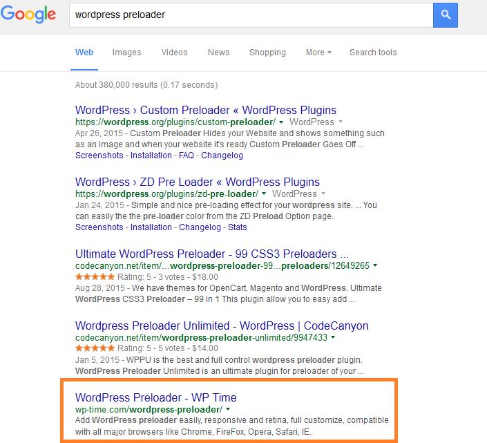 wordpress seo on google