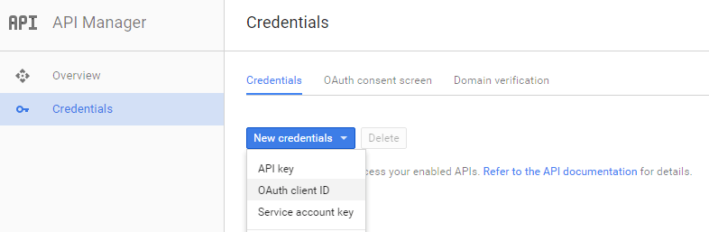 google-api-credentials