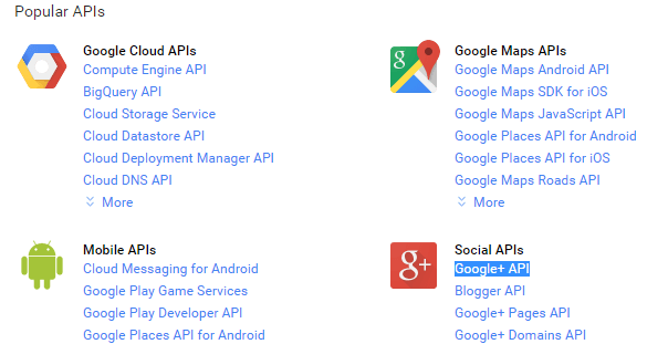 google-plus-api