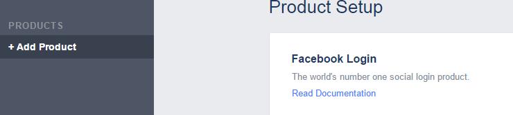 facebook login api