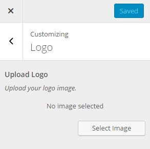 upload image in wordpress customizer