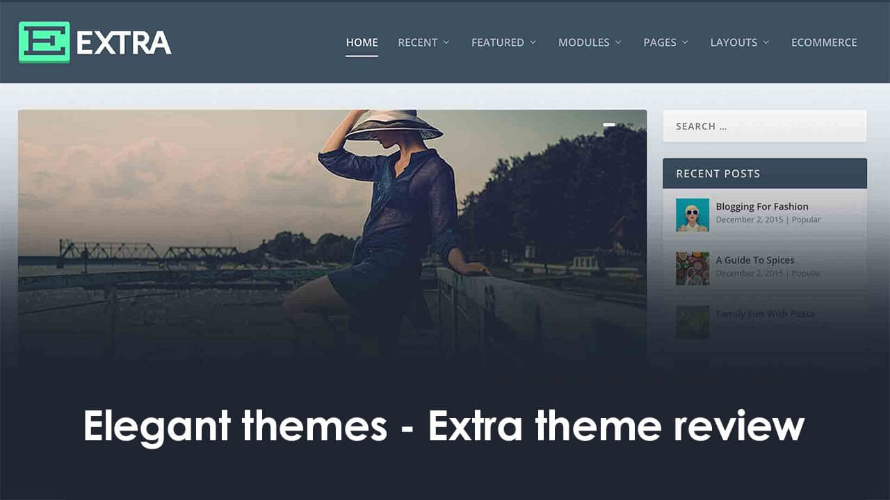 extra theme by elegant themes