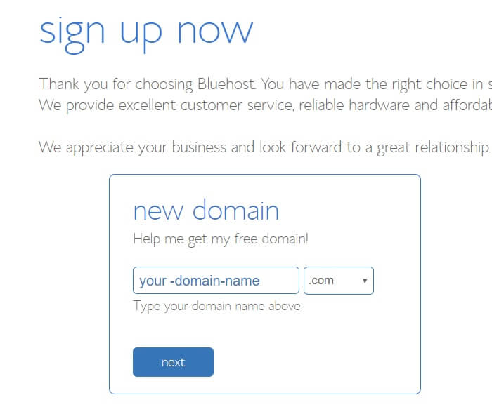 make a blog in bluehost